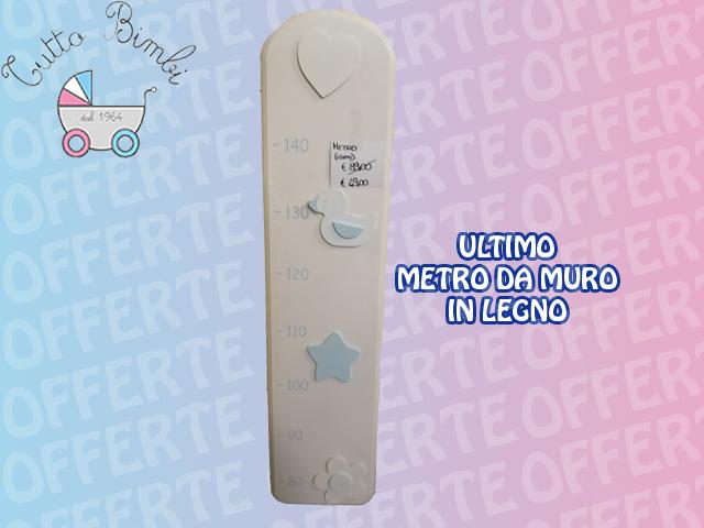 PROMOZIONE ULTIMO METRO DA MURO