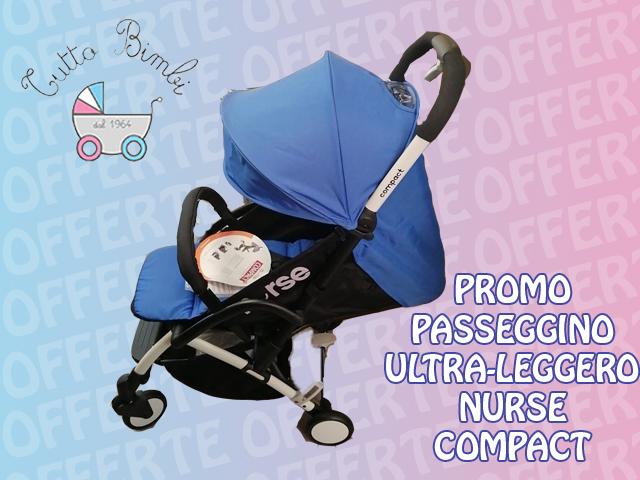 PROMO ULTIMO PASSEGGINO ULTRA/LEGGERO COMPACT
